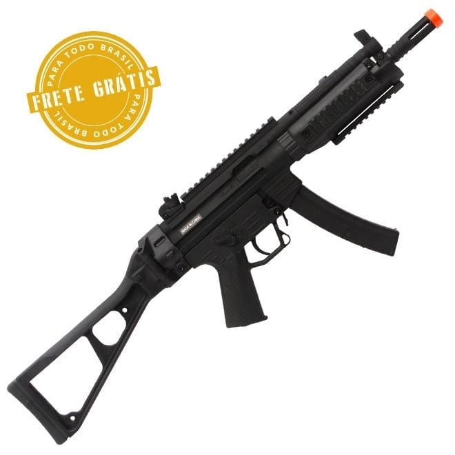 Airsoft GSG 522 RIS Full Metal com Blow back - Cybergun